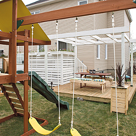 Rona Play Structure